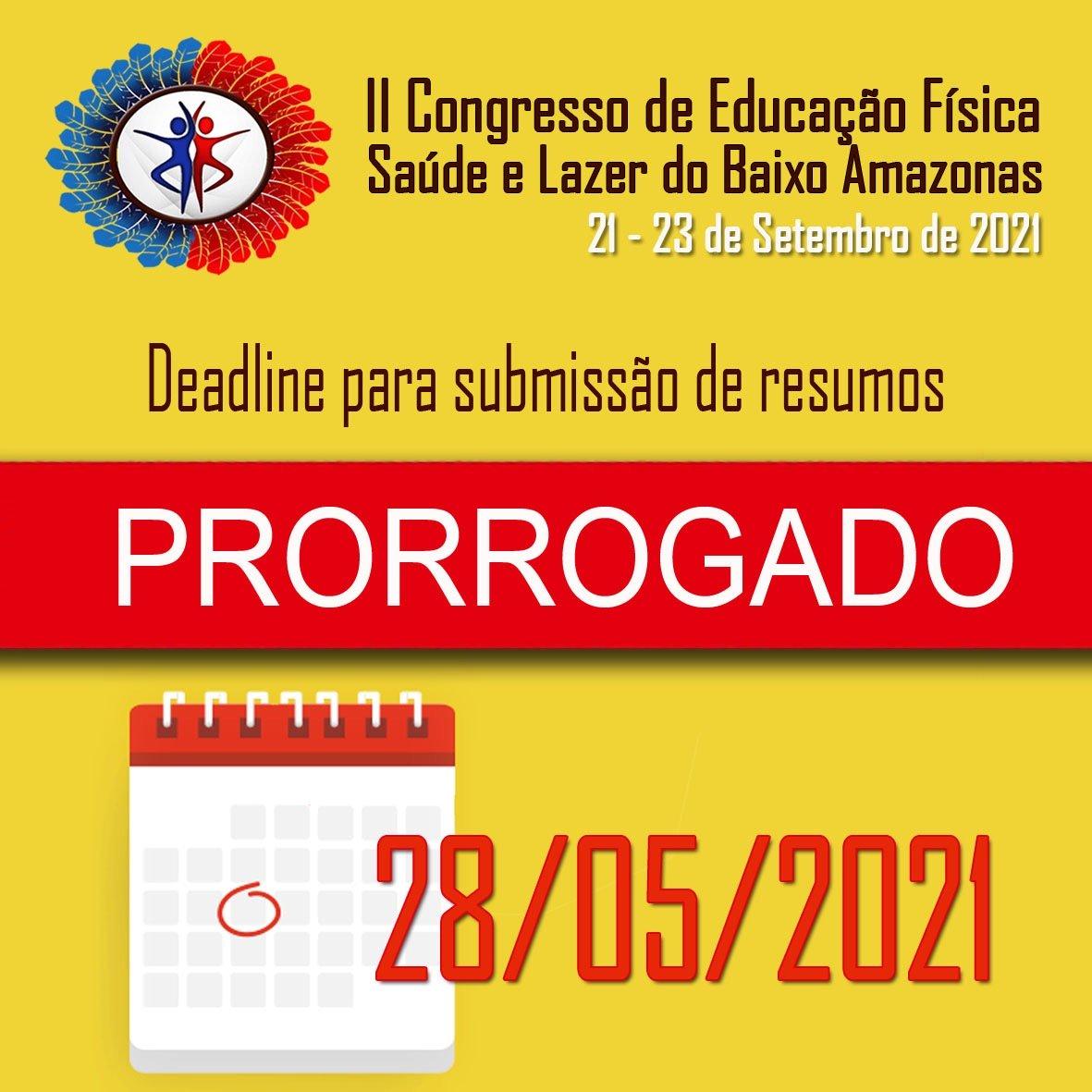 II Congresso de Educação Física, Saúde e Lazer do Baixo Amazonas