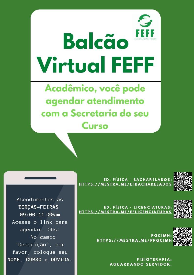 Balcão Virtual FEFF
